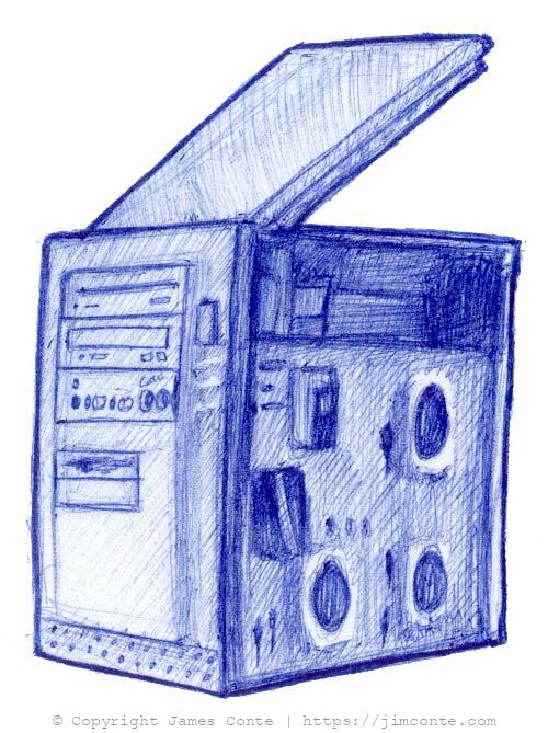 Drawing of My Computer