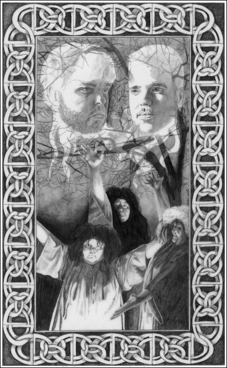 Illustration for MacBeth Act I